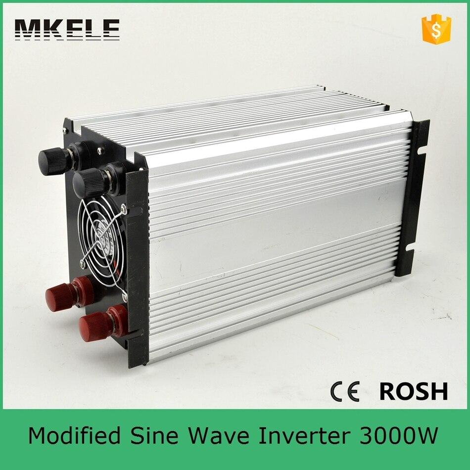 MKM3000-121G modificado potência do inversor de onda senoidal 3000 para  camping potência do inversor 12vdc 120vac off grid single output com usb  5vdc a1f53606fe