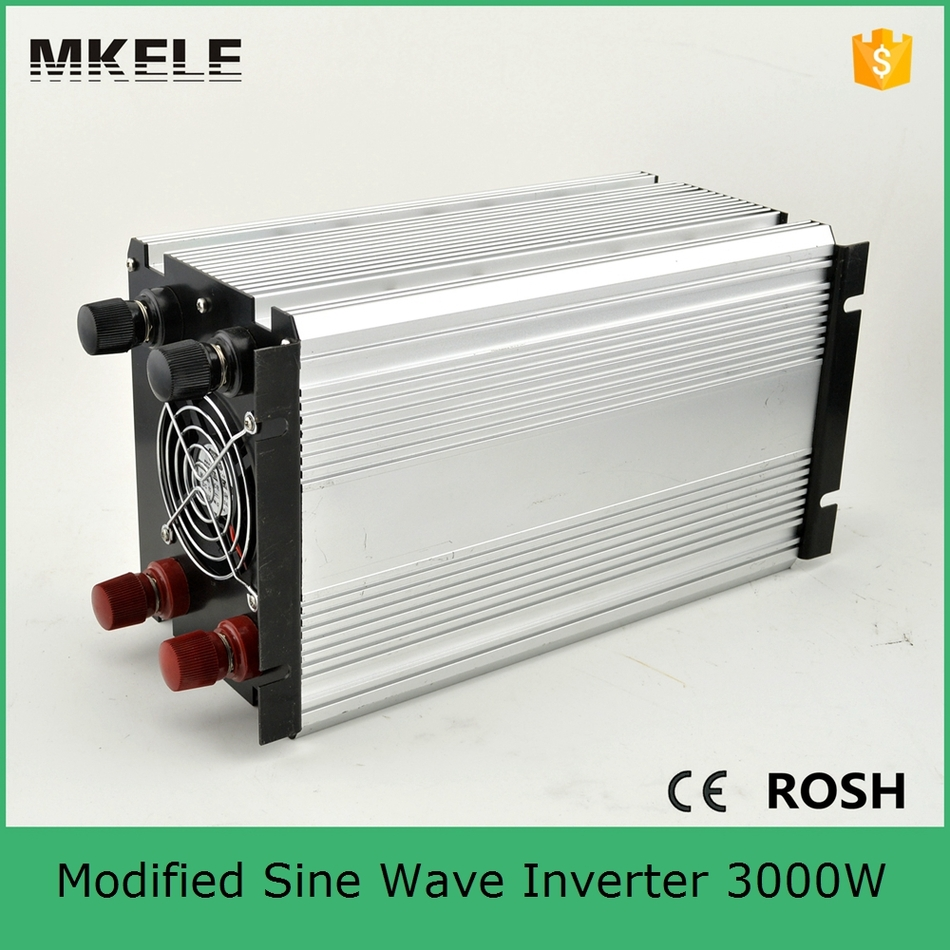 Us 143 26 13 Off Mkm3000 121g Modified Sine Wave 3000 Power Inverter For Camping Power Inverter 12vdc 120vac Off Grid Single Output With 5vdc Usb In