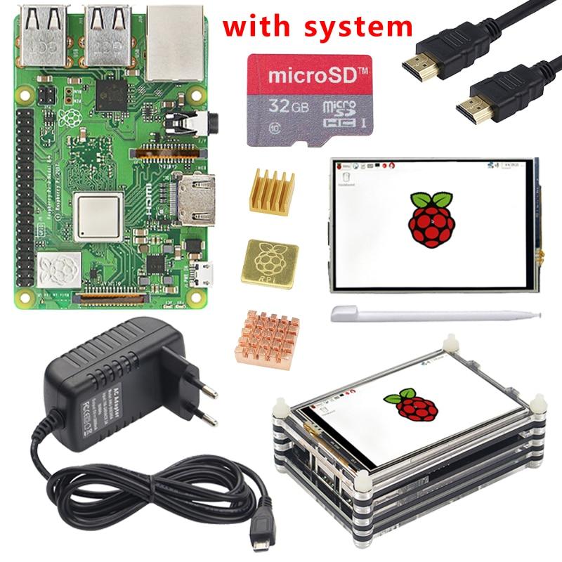 Original Raspberry Pi 3 Model B Plus with WiFi Bluetooth 3 5 inch Touch Screen Case