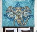 Drop Shipping Indian Elephant Tapestry Boho Wall Hanging Tapestries Mandala Beach Throw Towel Yoga Mat Gypsy Bedspread 150*150cm