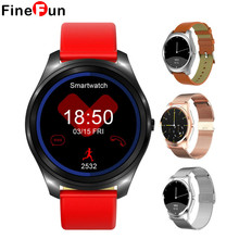 FineFun Smart Watch 1.3 Inch MTK2502C BT4.0 IP67 Heart Rate Monitor Dialing Call logs Message Push 64MB+128MB for Android IOS