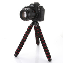 New Arrival Large Octopus Spider Flexible Tripod DSLR Camera DV Stand 1/4″ 3/8″ Screw Mount Camera Accessories