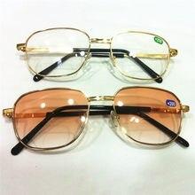 Las mujeres de los hombres de Metal marco bifocales gafas de lectura la  hipermetropía dioptrías de 1,0 a 4,0 la presbicia gafas . 897684c3b5