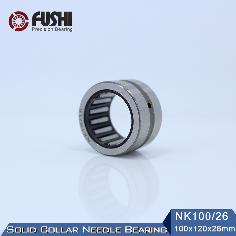 NK100/26 Bearing 100*120*26 mm ( 1 PC ) Solid Collar Needle Roller Bearings Without Inner Ring NK100/26 NK10026 BearingNK100/26 Bearing 100*120*26 mm ( 1 PC ) Solid Collar Needle Roller Bearings Without Inner Ring NK100/26 NK10026 Bearing