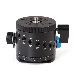 Image 2 - FITTEST DH 55D  Tripod Head HDR Panorama Ball Head with Indexing Rotator Aluminum Alloy DSLR Photography Panoramic Support Base