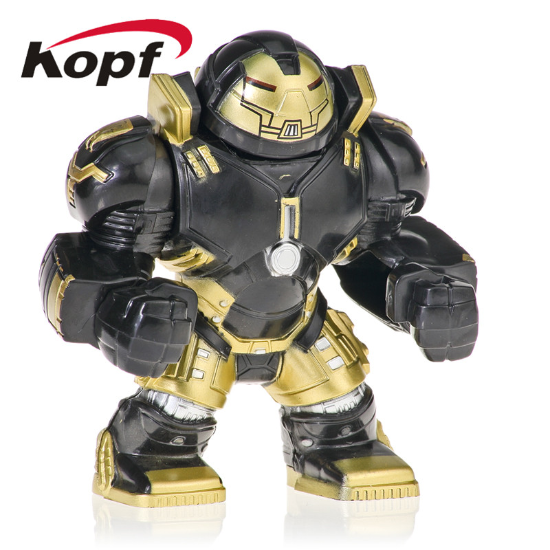 20pcs Super Heroes Hulkbuster Venom Groot Aleskse Riot Clayface Anti Hook Armor Bricks Building Blocks For