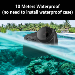 Image 3 - Original SJCAM SJ9 STRIKE 4K Action Camera Touch Screen Live Streaming Gyro/EIS Stabilization Waterproof Sport DV