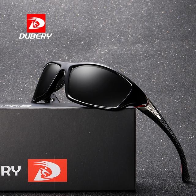 807fd7eedd0bc DUBERY Homens Retro Dos Óculos De Sol 2018 Polarizada Óculos de Sol  Masculinos Para Homens Espelho
