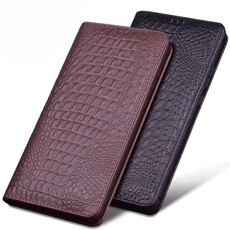 Retro Luxury Genuine Leather For iPhone XS Max Case XR