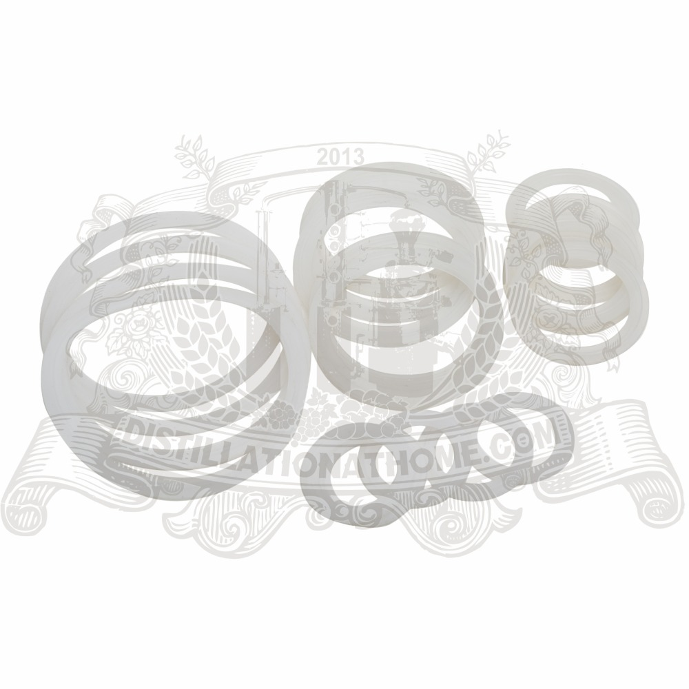 3/4- 8 Tri-clamp Silicon seal strip seal, gasket 5 pcs in set seal сил seal seal seal ii soul 3 cd