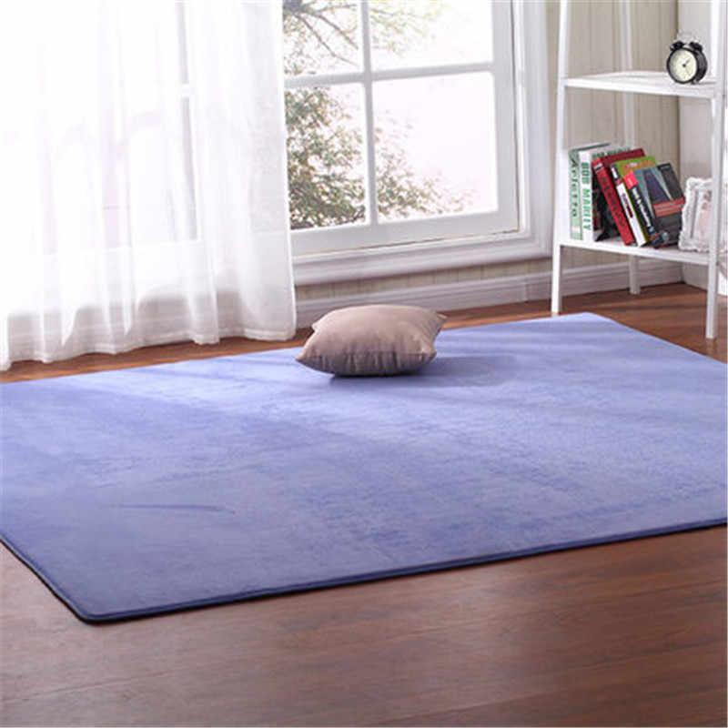 Frete grátis ao ar livre tenda almofada inferior grosso coral velo tapete tatami quarto sala de estar bay janela cobertor rastejando esteira