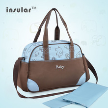 2014 Hot Sales Free Shipping Microfiber Baby Diaper Bag Brand Designer  Mommy Bags Antimicrobial Nappy Bags