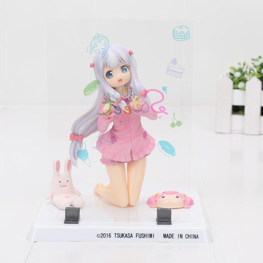 1//7 PVC Figure Figurine Anime Toy Nobox Eromanga Sensei Elf Yamada Swimsuit ver