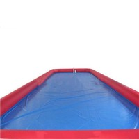 Large inflatable rectangular pool, inflatable pool square