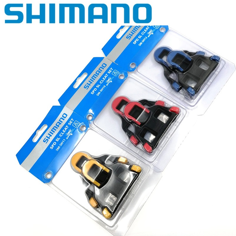 a67c483e1 SHIMANO SM SH10 SH11 SPD Road Bicycle Pedal Cleat Set Self Locking Pedal  Lock Shoes Cleat Riding Accessories