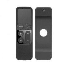 รีโมทคอนโทรลซิลิโคนกันฝุ่นบ้านป้องกันกรณีสำหรับ Apple TV Remote Controller สำหรับ Apple TV 4