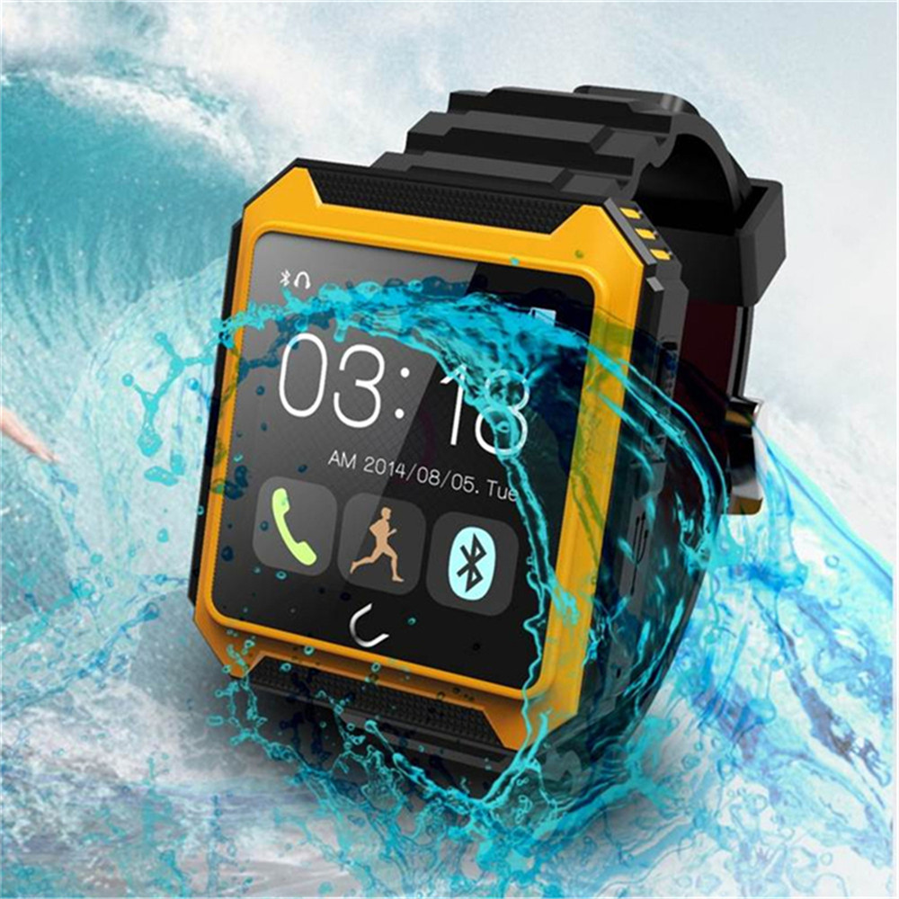 IP68 Waterproof Compass Bluetooth font b Smart b font font b Watch b font Uwatch UT