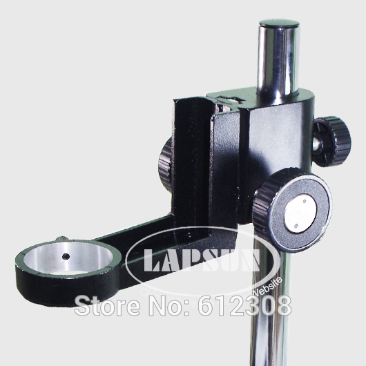 50 25mm Adjustable Stand Holder Ring Column Heavy Monocular Gear Zoom Video Metal Stereo Microscope Part