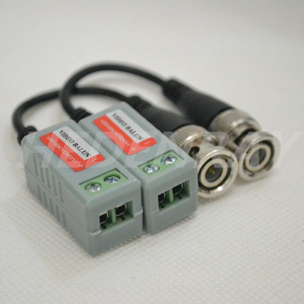 bilder für 10 pairs hd cvi/ahd/tvi video balun verdrehte bnc cctv passive transceiver utp balun bnc cat5 cctv utp für cctv kamera