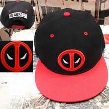 2016 new Fancy&Fantasy Anime Comic Marvel Deadpool Hip Hop Snapback Summer Cotton Cap Hat Baseball Cap For Men Women 3 Styles