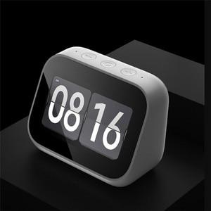 Image 4 - In Stock Xiaomi AI Touch Screen Bluetooth 5.0 Speaker Digital Display Alarm Clock WiFi Smart Connection Speaker Mi speaker