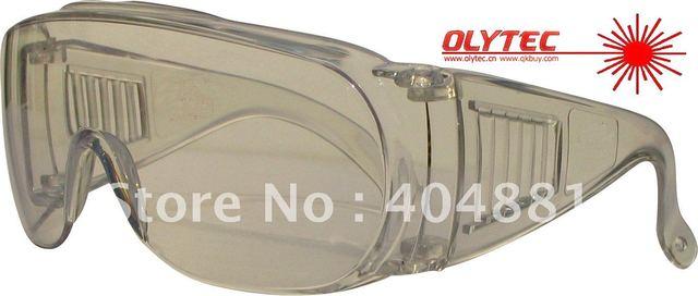 co2 Laser safety glasses for 10600nm Co2 laser , CE O.D 4+ high V.L.T%