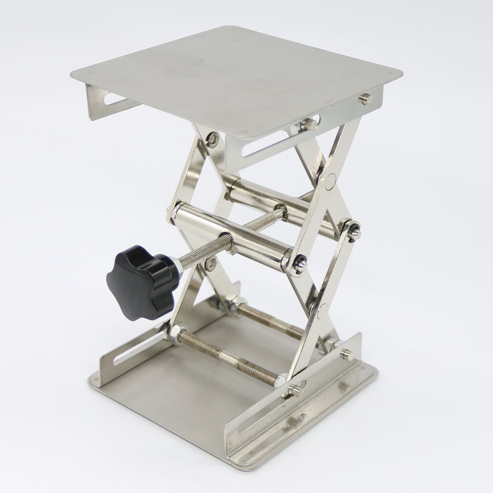 6X6'' Stainless Steel Lab-Lift Lifting Platforms Lab Jack Scissor - Arts, Crafts and Sewing - Photo 3