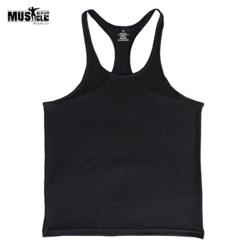 Professionals Tank Top Men Bodybuilding Stringers Fitness Singlets Workout For Man Male Cotton Casual Sleeveless T-shirts