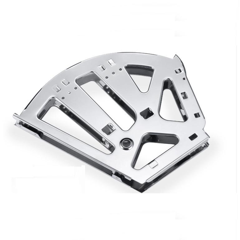 Aliexpress.com : Buy 1Pair Shoe Rack Flip Frame Stainless steel 3 ...
