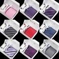 2016 meninos marca de moda de seda vestido de laços dos homens gravata conjunto abotoadura 8.5 cm new stripe gravata gravata de casamento à prova d' água masculina