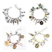 Cute Harri Potter Combination Jewellery Snitch Tine Turner Silver Plated Charm B