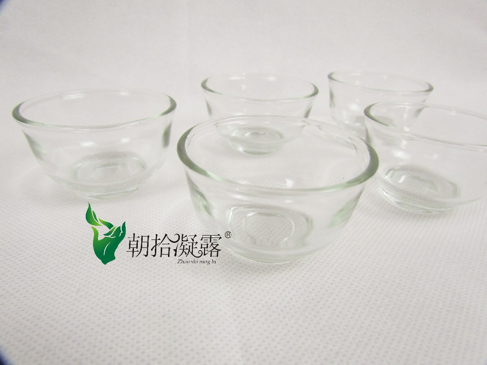 5pcs of Chinese traditional glass tea cups tea sets tea accessories