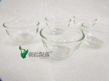 5 unids de vidrio tazas de té Chino tradicional, juegos de té, accesorios de té