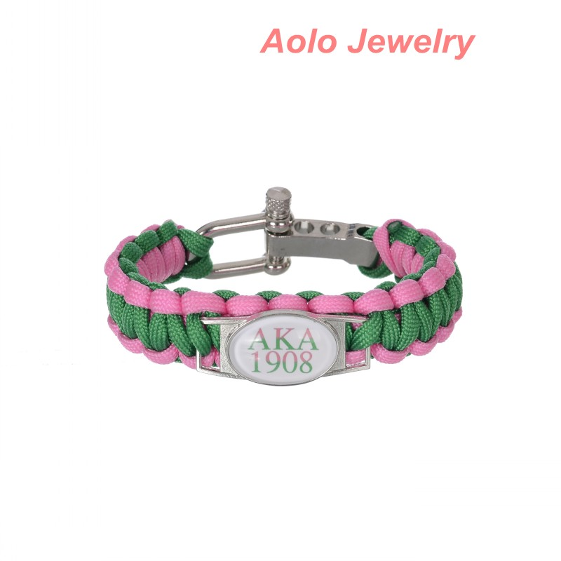 custom greek letters sorority and fraternity 550 paracord charm bracelets greek accessories fraternity and sorority gifts