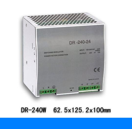 240W 12V 20A switching power supply din rail switching power supply smps MDR-240-12 low price direct sale din rail smps mdr 60 12 mdr series 12v 5a 60w ce switching power supply for led strip light lamp