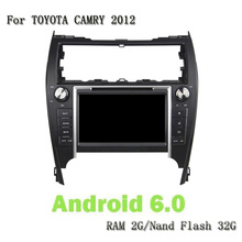 8 Inch 2 Din Android 6.0 Car Dvd Player GPS Navi Audio Stereo For Toyota CAMRY 2012 With Wifi Mirror Link DVD RDS Bluetooth