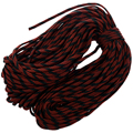 Parachute code rope, Red camouflage- 7 strands, 550 pounds, 100 feet