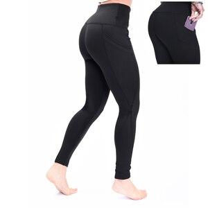 Image 3 - 2019 Fashion high waist Elastic leggings for fitness female new arrivals sports legging workout plus size stretch pants Legins