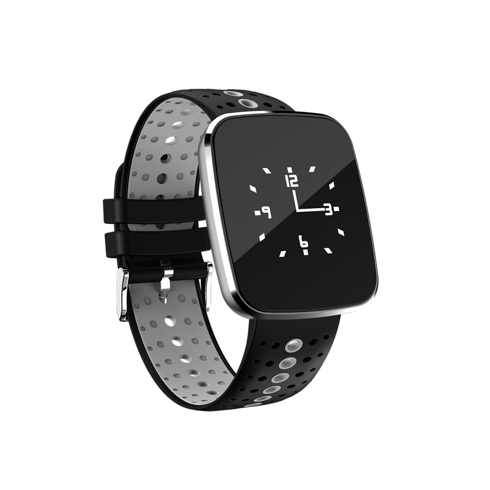 V6 0.96 Inch OLED HD Screen Smart Watch Fitness Tracker Heart Rate Blood Pressure Monitor Sports Smartwatch Smart Bracelet