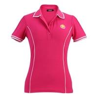 Golf giyim womens yüksek kalite golf gömlek kore polo feminina pra golfe kısa kollu artı boyutu kadınlar kuru fit golf gömlek