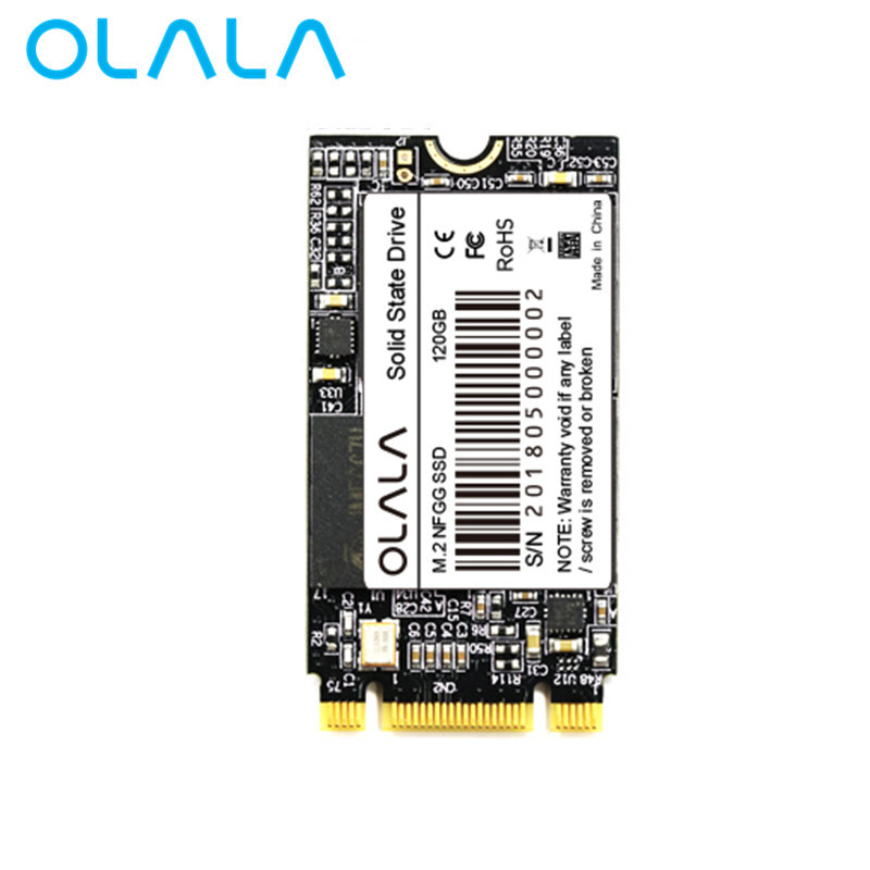2018 OLALA M.2 SSD 120 gb 240 gb 480 gb Interne Solid State Drive 22*42mm NGFF SATA 3 6 gb/s SSD Pour Ordinateur Portable Ultrabook Portable