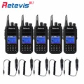 5X DMR Digital Walkie Talkie Retevis RT3+Car Charger Cable 5W UHF 1000CH 2000mAh Portable Amateur 2 Way Radio Transceiver Moscow