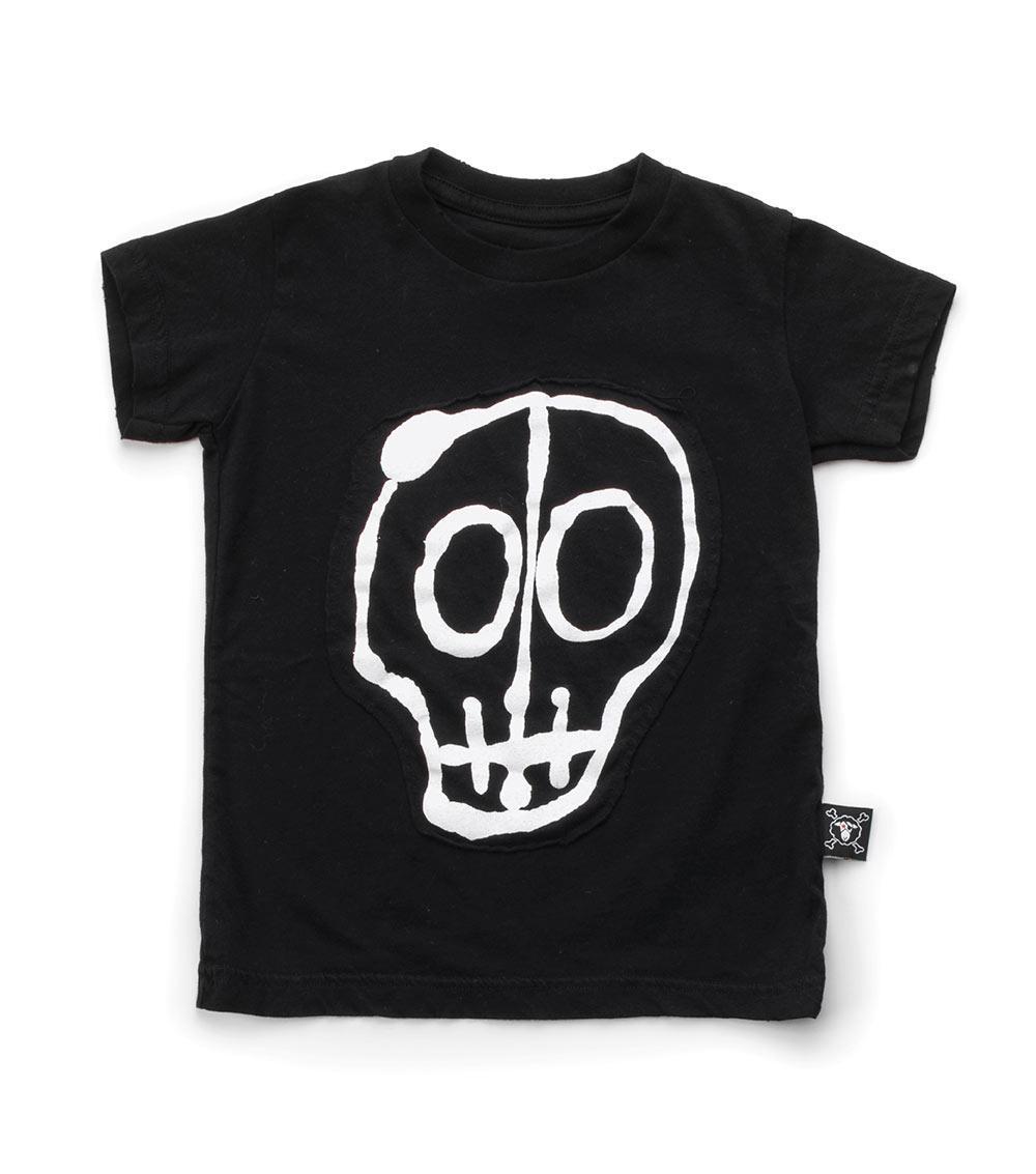 2018 NUNUNU SLEVELESS cotton skull printed tops T SHIRTS BOYS CLOTHING GIRLS CLOTHING VESTIDOS KIDS CLOTHES VETEMENT BOBO CHOSES
