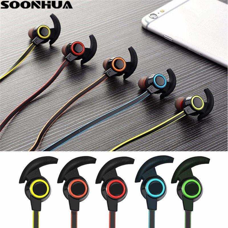 New Wireless Bluetooth Sweatproof Sport Stereo Hi-Fi Headphone In-Eear Earphone Headset For iPhone/Xiaomi/Samsung S8/Tablet PC new metal magnetic wireless bluetooth headphone sport headset hands fress hifi earphone with mic for iphone samsung phones