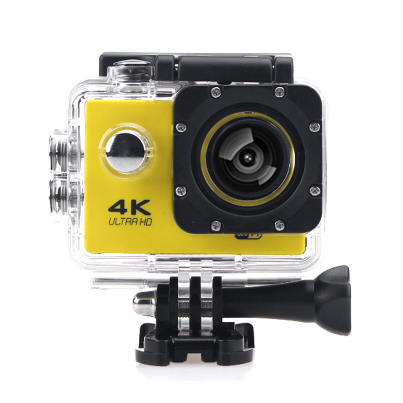 "2016 gopro hero 4 style Action camera F60 Ultra HD 4K WiFi Underwater 30M Sports Camera 2.0"" LCD 1080p 60fps Camera Car Recorder"
