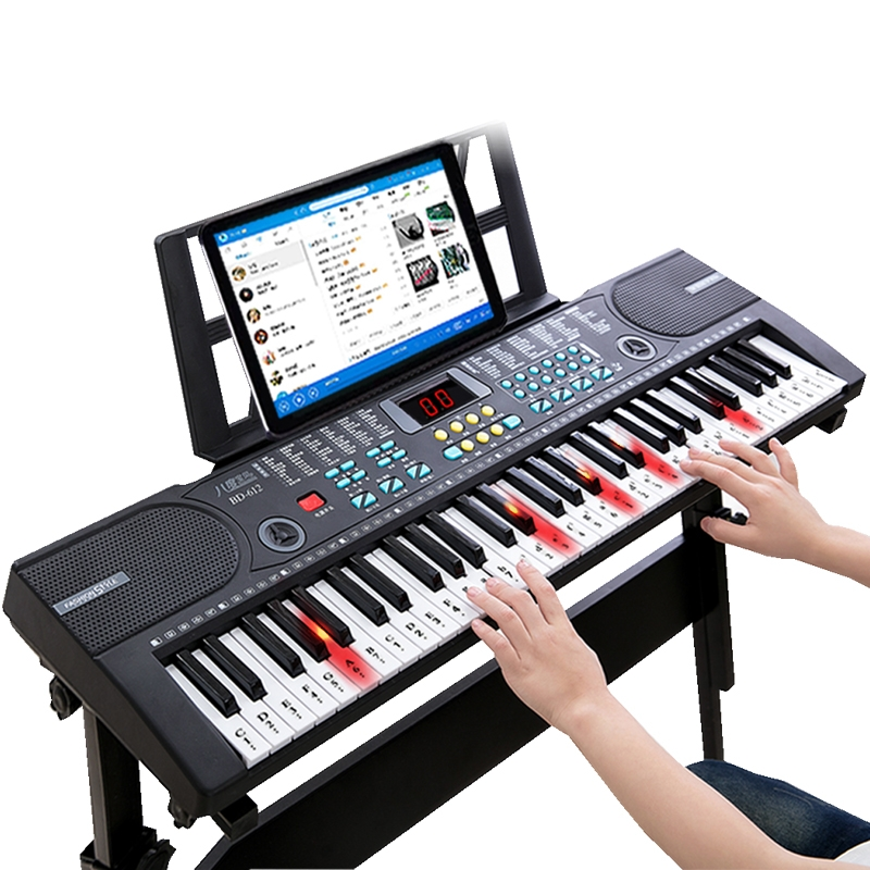 Children's Keyboard Beginner Boys And Girls 61 Keys 1-12 Years Old Multi-function Intelligent Baby Piano Keyboard