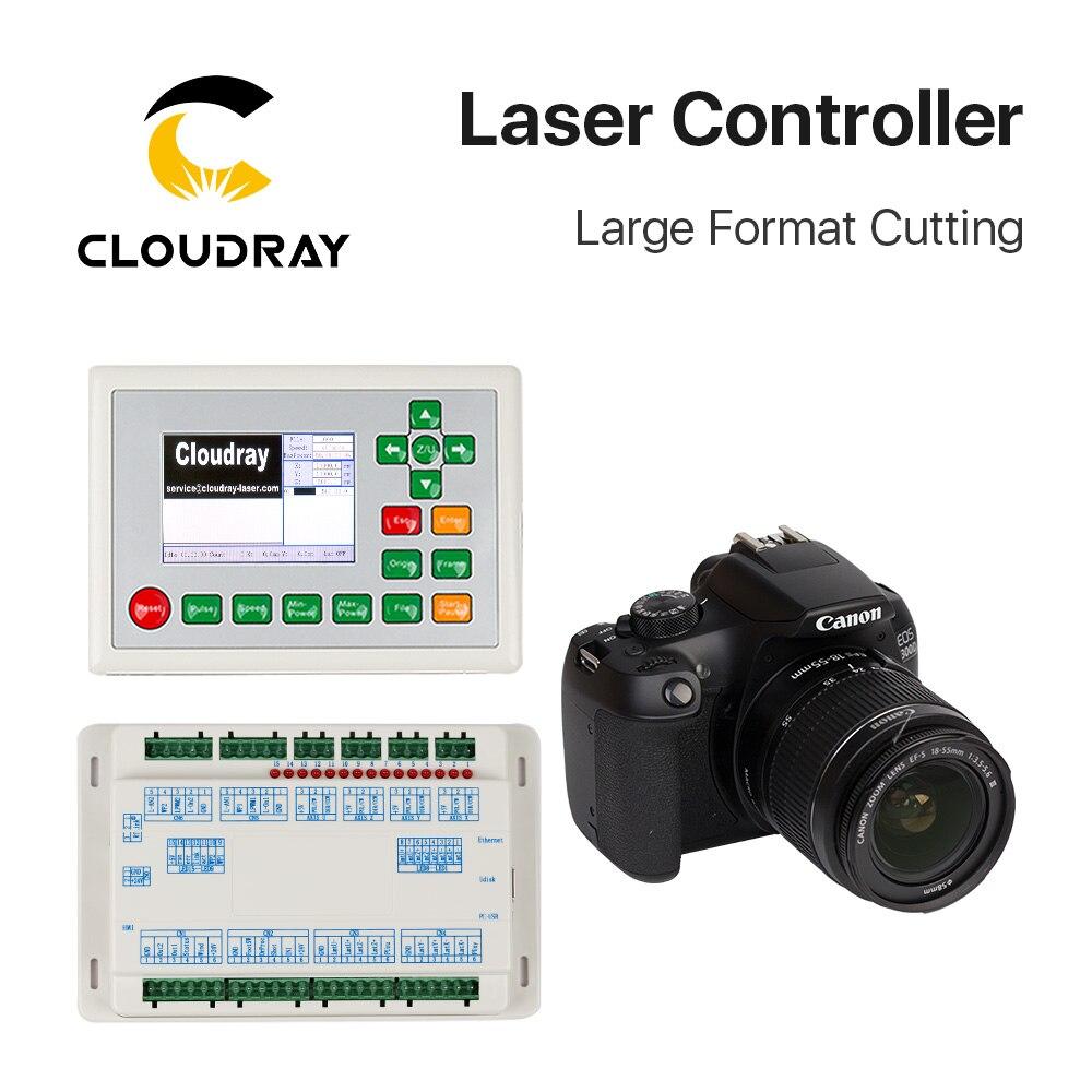 Contrôleur de CO2 Cloudray RDC6442G-DFM-RD de découpe grand Format pour Laser 10600nm 10.6um Machine de gravure de découpe