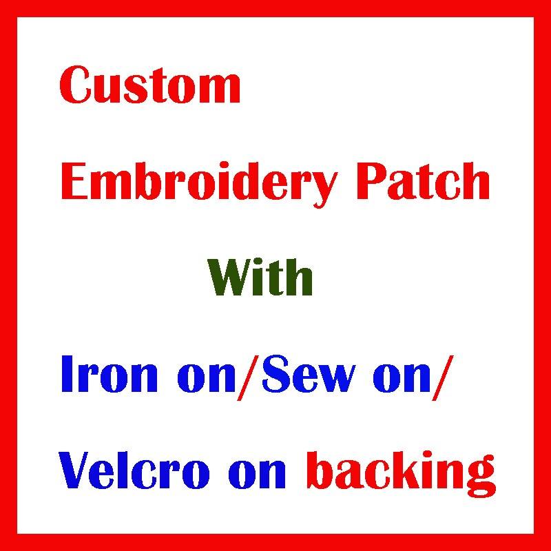Custom Embroidery Patch With Your Own Logo Design Custom Team Club School Logo