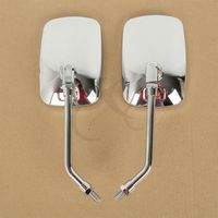 Motorcycle accessories Side Rear Mirrors For YAMAHA XV1100 XVS1300 DS400 XVS400 XV1900 1700 Free Shipping! 2