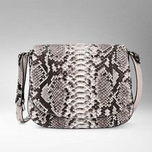 gete actual python pores and skin ladies  bag  classic  small luggage real leather-based high quality mini ladies purse